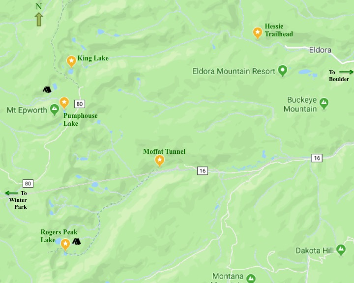 Backpacking CO Route 2018